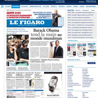 Page : LE FIGARO