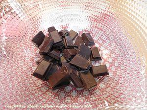 Moelleux framboise & chocolat sans beurre