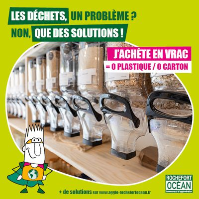 SENSIBILISATION A LA PREVENTION DES DECHETS