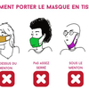 Comment bien porter un masque ?