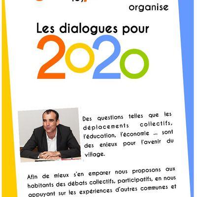 Les dialogues pour 2020 de novembre et décembre