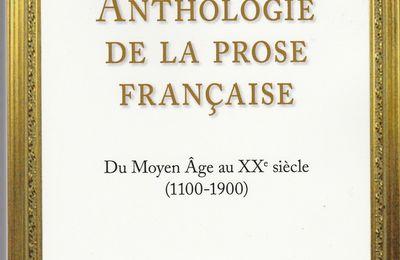 946. Anthologie de la prose française