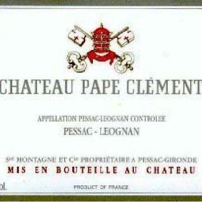 Quelles sont les propriétés AOC d'un Château Pape Clément ?