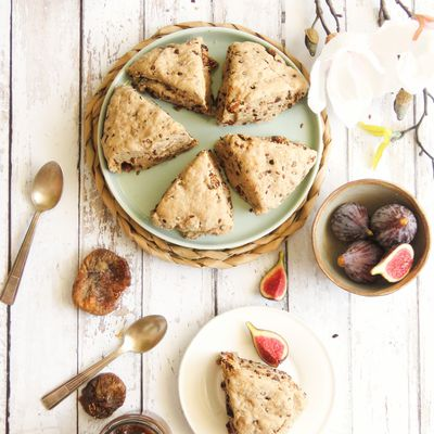 Scones figues-cannelle