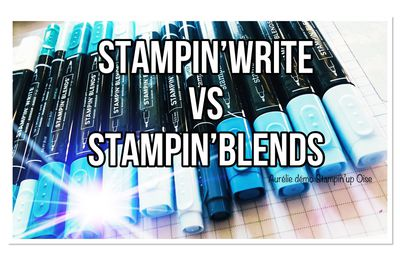 Stampin write vs stampin blends