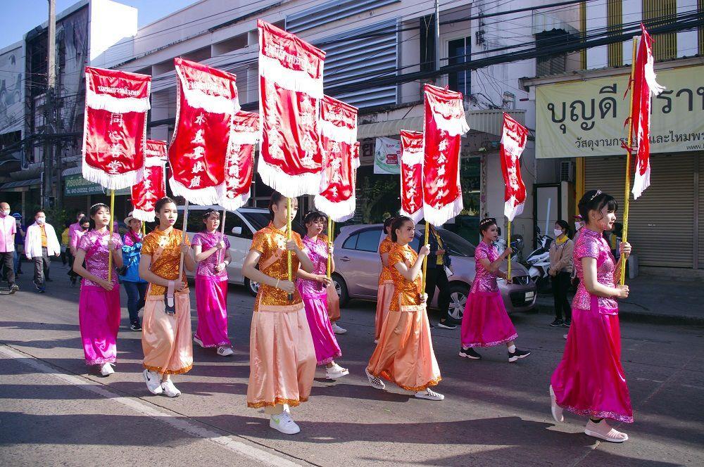 Udonthani: Parade chinoise du 5 décembre 2020 (2eme partie)