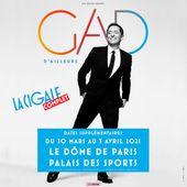 Gros succès pour les locations du nouveau spectacle de Gad Elmaleh : nouvelles dates à Paris. - Leblogtvnews.com