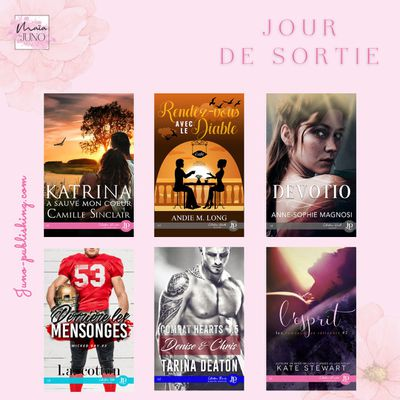 Parutions Juno Publishing du 22 avril 2021 (MF)