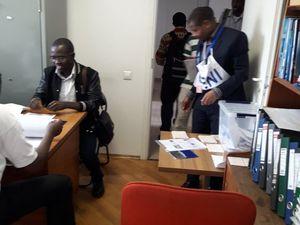 En fédération de Russie, les burundais votent également