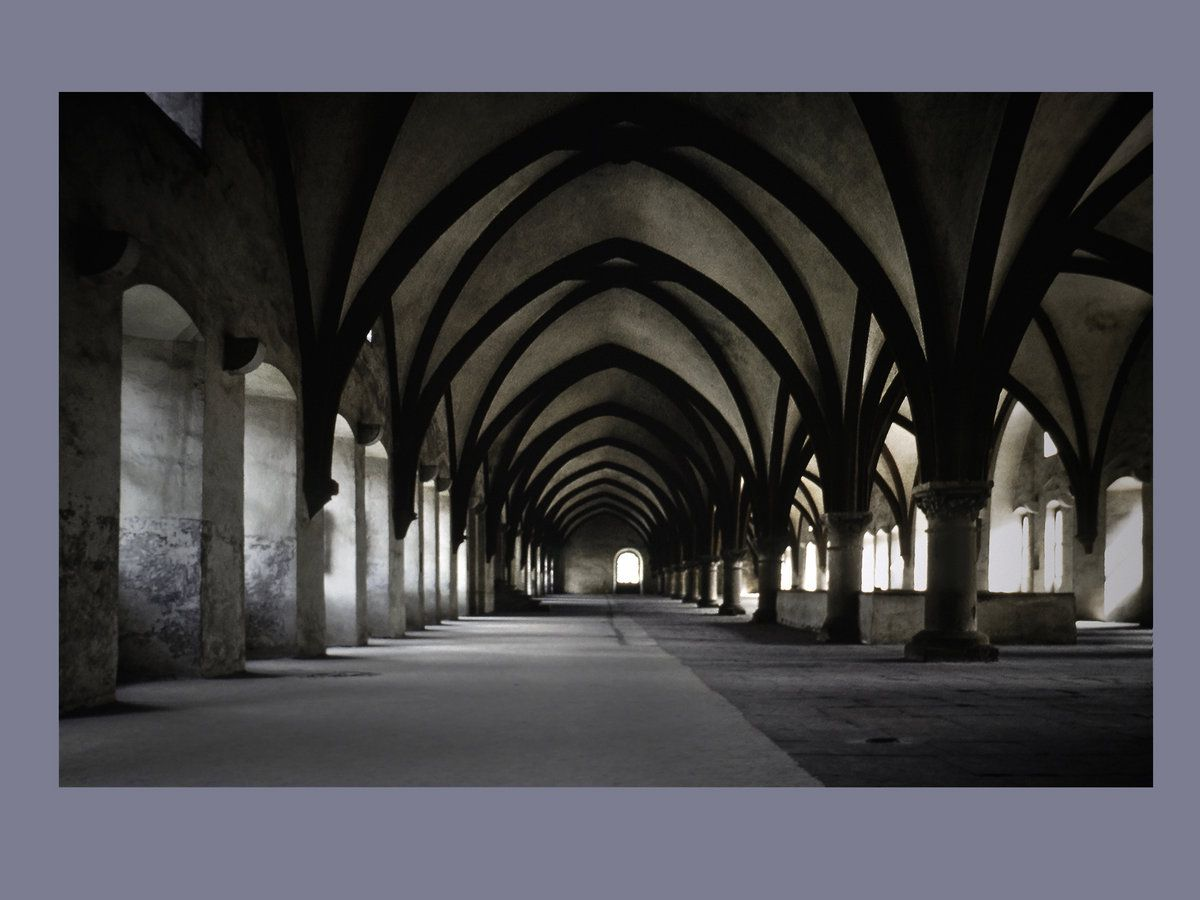 Abbaye d'Eberbach / Photographie de Jim Bengston