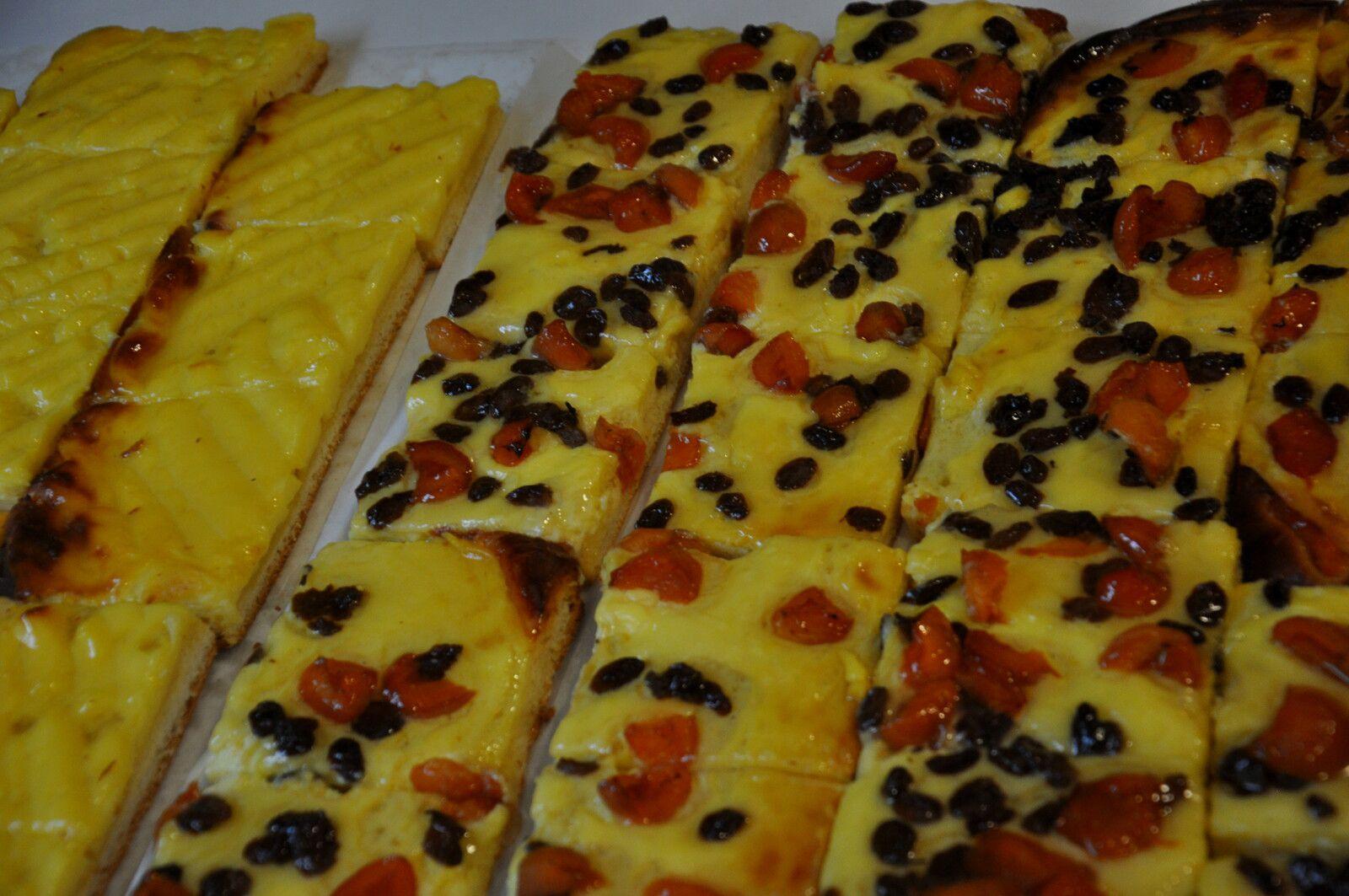 Les gâteaux de Jean Marie Garrigue.