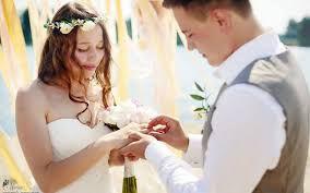 Rituel d'amour pour un mariage parfait et heureux.