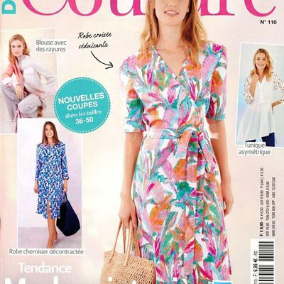 (MAJ) Magazines de janvier 2021: Diana Couture, Coudre c'est facile, Modes & Travaux, Collection couture facile