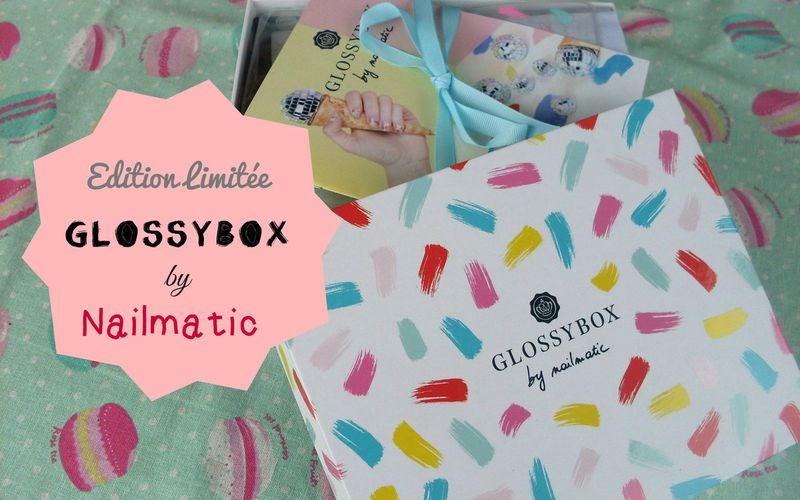 Edition Limitée ~ Glossybox by Nailmatic ~ 100% Nails