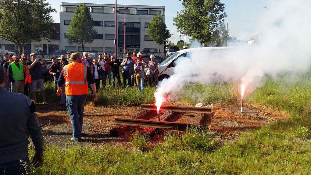 Journée du 24 Avril 2018 retour en images : Initiative Halte Ferroviaire Hopital