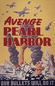 affiche Avenge Pearl Harbor