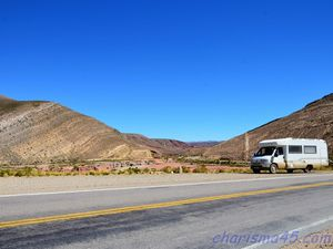 Villazon-Salta (Argentine en camping-car)