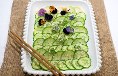 Carpaccio de radis green meat