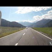 18 Goldwing Unsersbande Tirol 2015 Depart du lac de resia vers le Stelvio 2