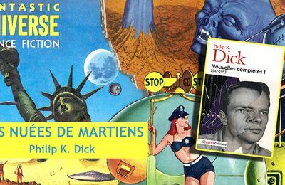👽📚 PHILIP K. DICK - DES NUÉES DE MARTIENS (MARTIANS COME IN CLOUDS, 1952)