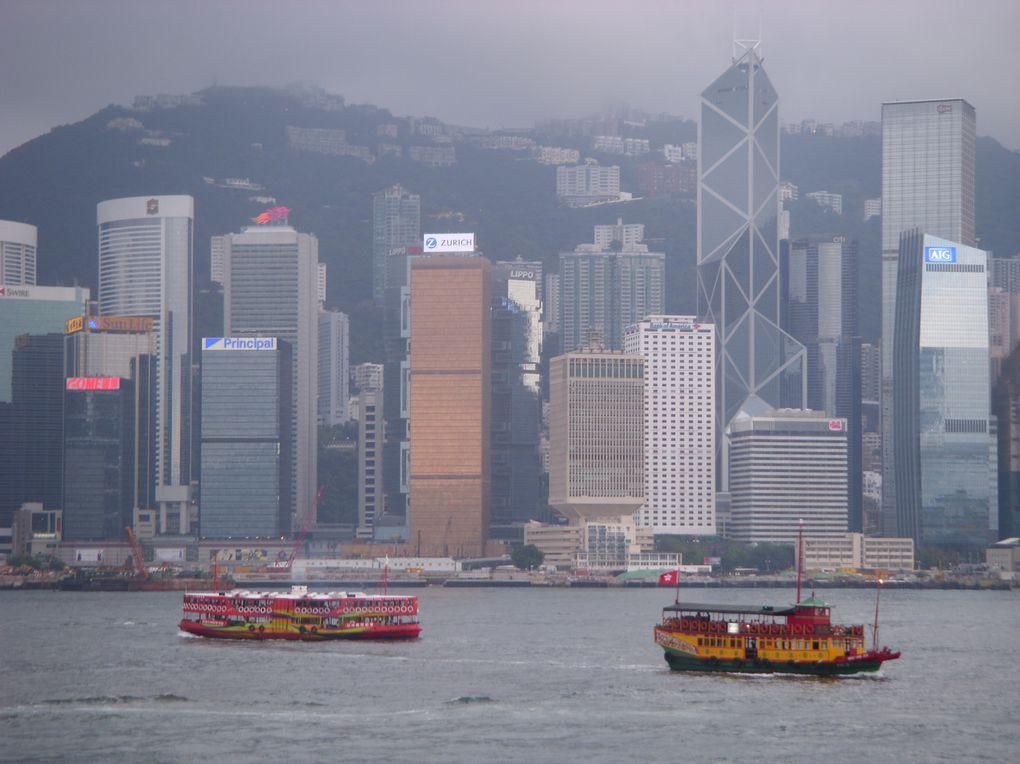 Quelques jours magiques dans la majestueuse HK ... pas le temps de tout faire de tout voir, mais s'imaginer y retourner ...