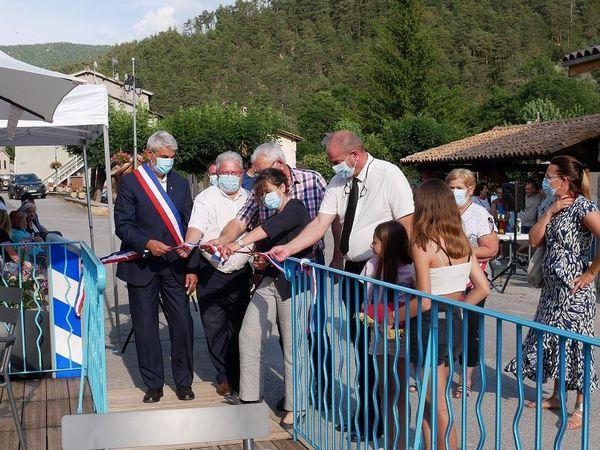 Allons  : L'espace «Bibliothèque-Café» de la commune a été inauguré ce mercredi 21 juillet.