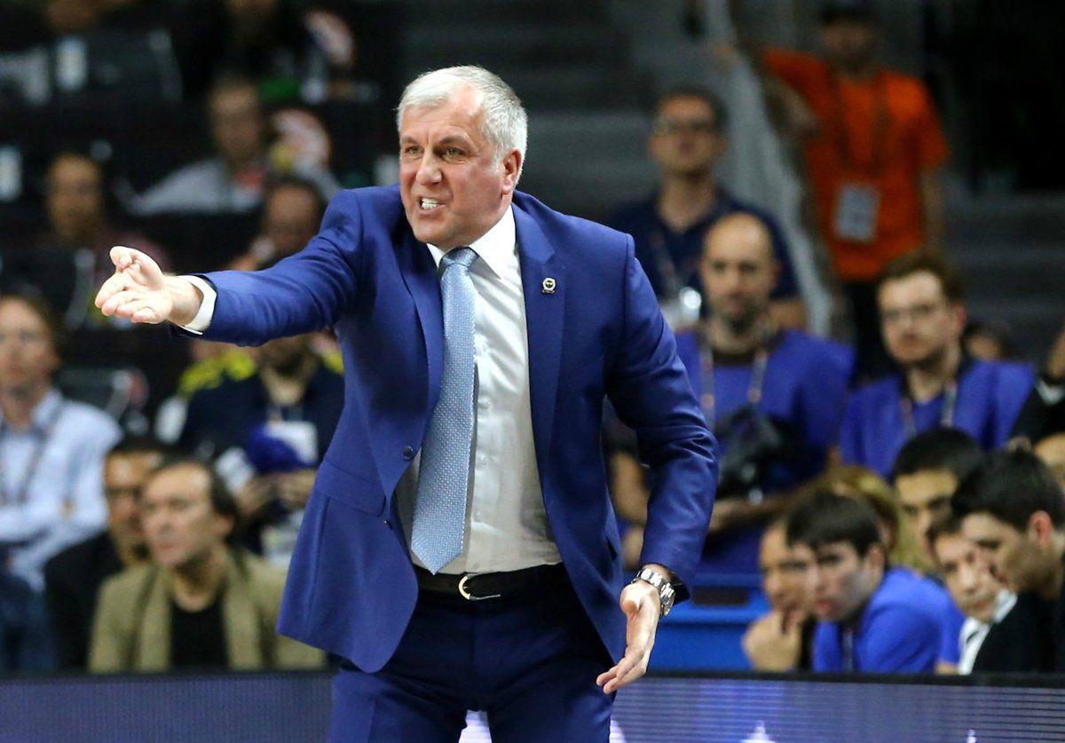 """Zeljko Obradovic: """"Je serai dimanche du côté du Real """""""