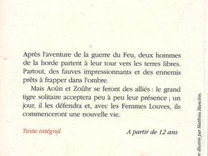 """J.-H. Rosny aîné """"Le Félin géant"""" (Hachette Jeunesse - 1994)"""