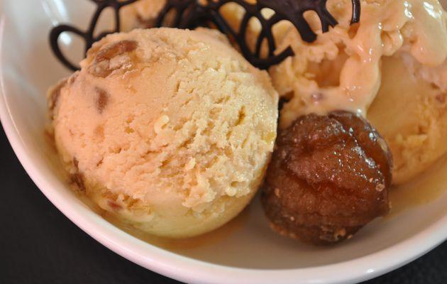 Crème glacée aux marrons
