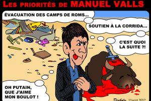 Valls et les stocks de sans-papiers!