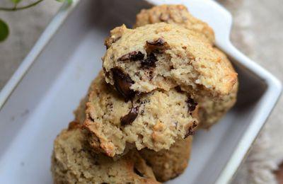 Cookies au beurre de cacahouète et chocolat #végan