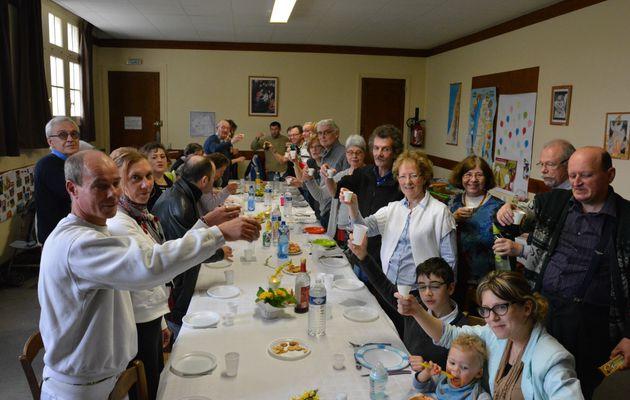 Les « Amis de Lourdes » reçus à St Vincent de Paul