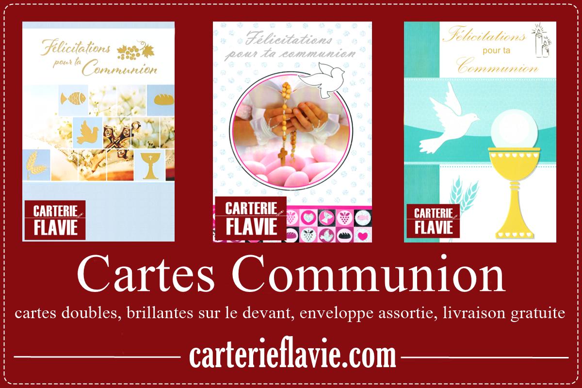 Vos Cartes Communion avec Carterie Flavie :)