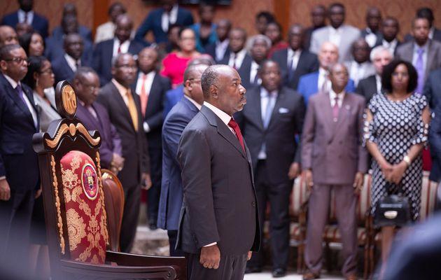 S.E. Ali Bongo Ondimba prend part à l'Audience de rentrée solennelle de la Cour Constitutionnelle
