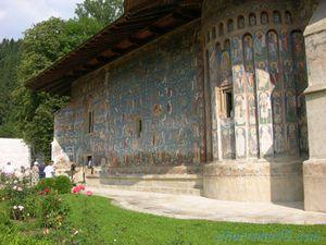 Monastère de Voronet, Roumanie en camping-car