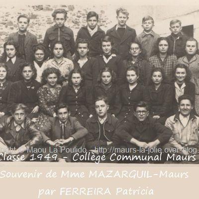 Photo de classe de 1949