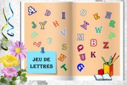 Petit jeu de lettres Lady 17