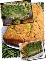 Le cake marbré à la pistache un petit délice pour le goûter