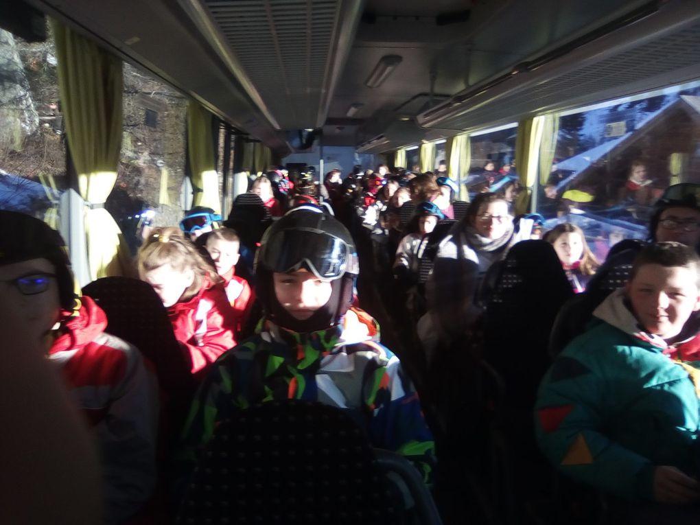 séjour au ski des 5èmes - janvier 2019