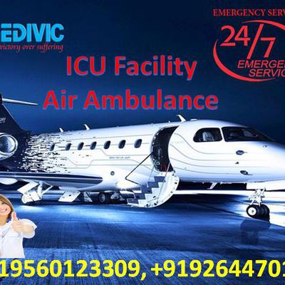 Medivic Aviation Air Ambulance In Patna & Delhi With Fastest Medical Service