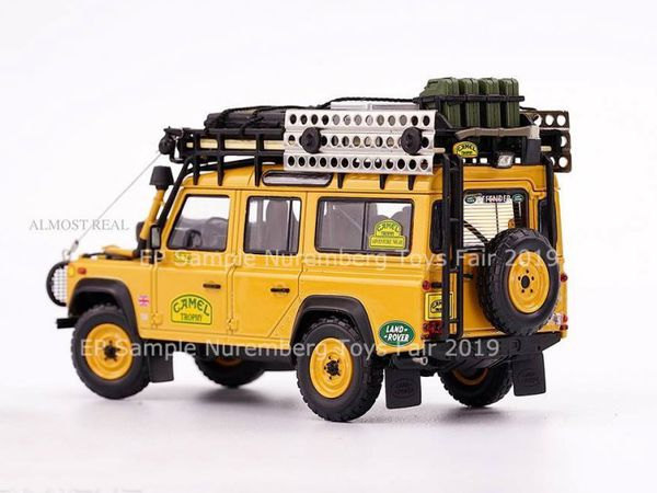 1/43 : Almost Real dévoile ses Land Rover Defender Camel Trophy Edition