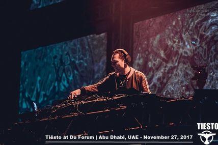 Tiësto photos, vidéo | Du Forum | Abu Dhabi, UAE - November 26, 2017 | Abu Dhabi F1 Grand Prix weekend