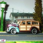 1940s WOODIE 1940 HOT WHEELS 1/64 - FORD WOODY - car-collector.net