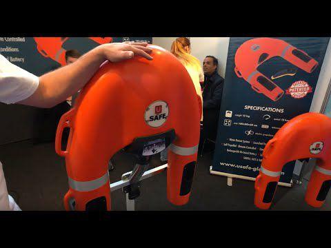 VIDEO - U Safe, la bouée de sauvetage télécommandée remporte le Grand Prix Dame Awards 2019
