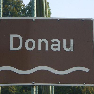 Le Danube toujours...en Autriche!!
