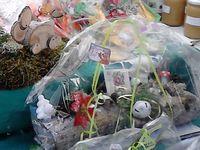 La Robionnaise était au marché de Noël de Castellane