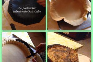 Ma vidéo pour vous expliquer comment foncer une pâte à tarte dans un moule en silicone et comment la démouler après cuisson