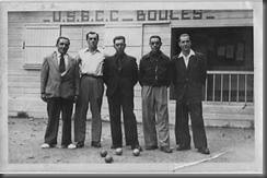 1951 Equipe qualifiée pour le Championnat de France à CASABLANCA