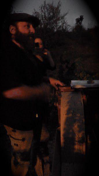 Entre nuit et jour : ban des vendanges à cadablès