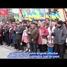 """Ukraine, Nikolaev. """"Assassins! Honte!"""" les militaires hués par les habitants en colère."""
